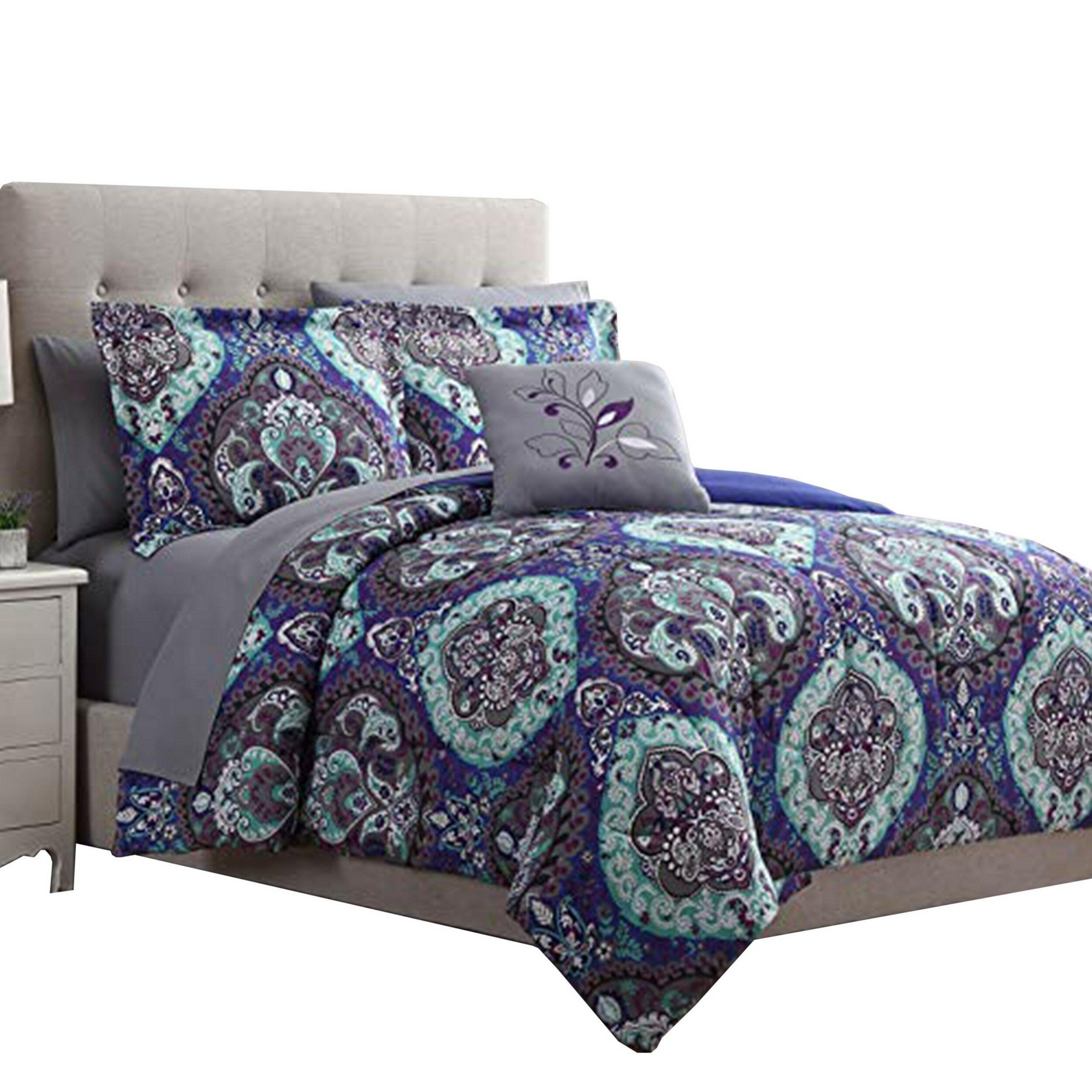 Bloomsbury Market Adreyan Reversible Comforter Set Wayfair