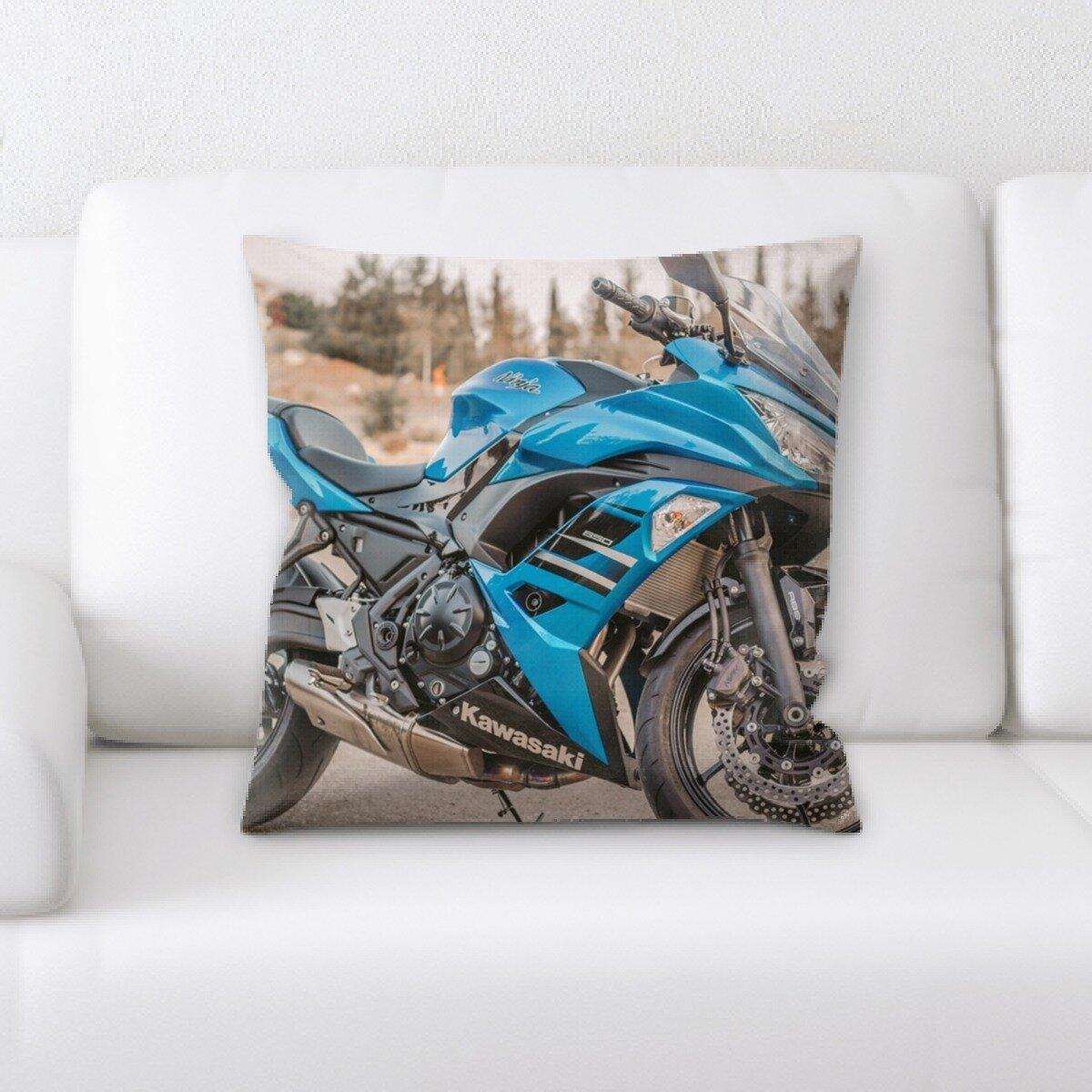 Latitude Run Yatendra Race Bike Throw Pillow Wayfair