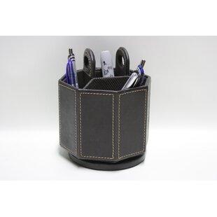 Faux Leather Pen Holder by Desti Design