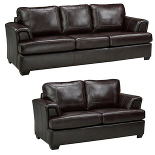 Looking for Verano Leather 2 Piece Living Room Set by Loon Peak Reviews (2019) & Buyer's Guide