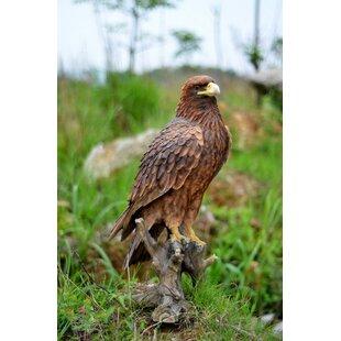 Hi-Line Gift Ltd. Golden Eagle Statue