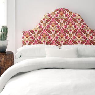 Arched Upholstered Panel Headboard by Mistana