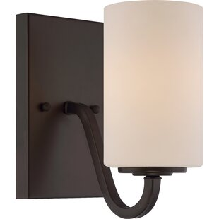 Tinley 1-Light Bath Sconce by Charlton Home