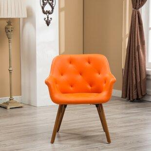 Save & Burnt Orange Accent Chair | Wayfair