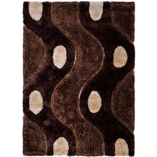 Caress Brown Area Rug by Home & Haus
