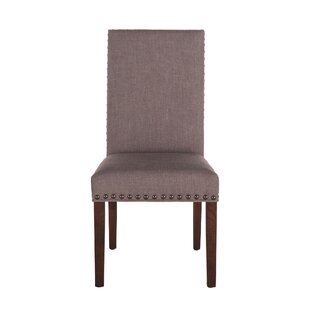 Johnone Upholstered Dining Chair (Set of 2) by Alcott Hill
