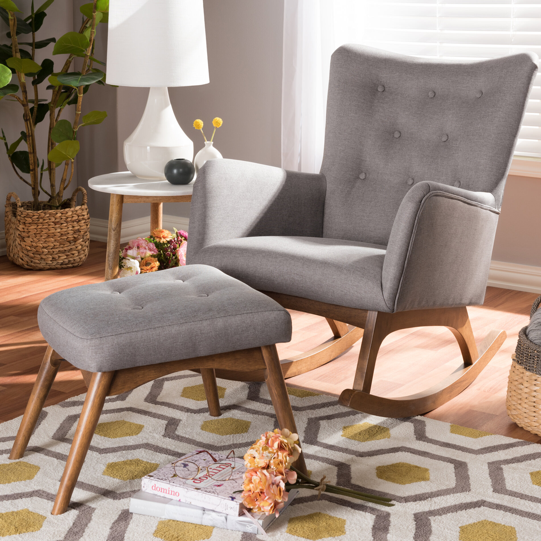 differently 7d4f6 c85a8 Centreville Rocking Chair with Ottoman