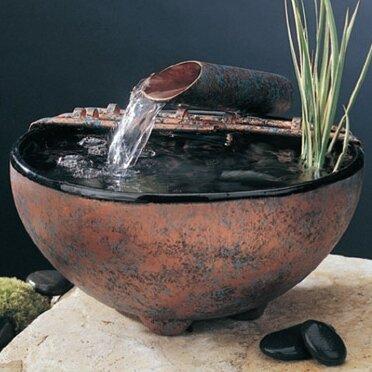 Nayer Kazemi Ceramic Nature Bowl Tabletop Fountain Reviews Wayfair