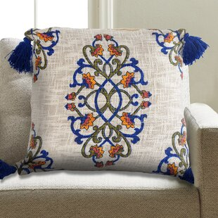 Quinones Cotton Throw Pillow