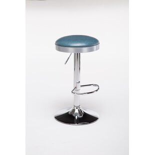 Ferranti Adjustable Height Swivel Bar Stool