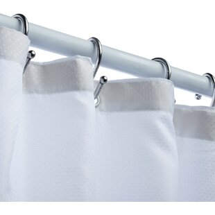 Luxury Fabric Vinyl Shower Curtain ByHoney Can Do