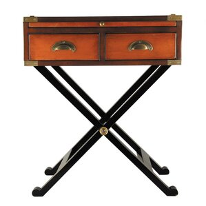 Secret Spaces War Chest End Table by Authentic Models