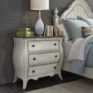 Toni 3 Drawer Nightstand by One Allium Way