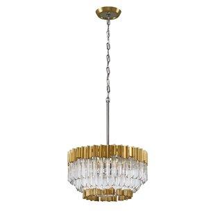 Charisma 5-Light Crystal Chandelier by Corbett Lighting