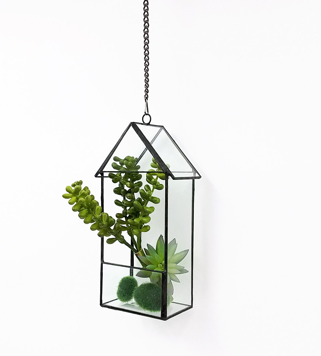 Wrought Studio Northwick Tabletop Succulent Glass Terrarium