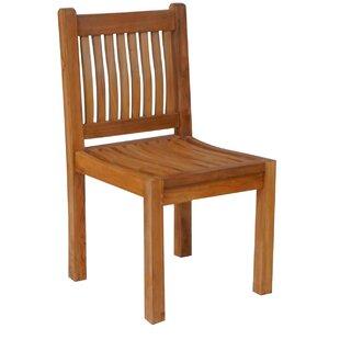 Quinlan Teak Patio Dining Side Chair