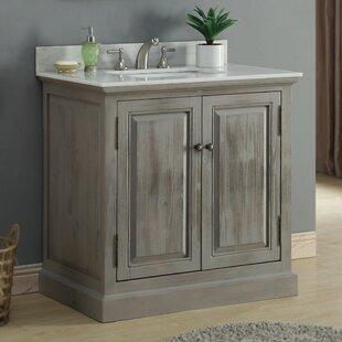 Affordable 37 Single Bathroom Vanity Set ByInFurniture