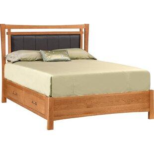 Monterey Upholstered Storage Platform Bed
