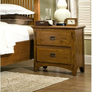 Imagio Home by Intercon Pasilla 2 Drawer Nightstand