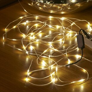 100 Warm White LED String Lights By The Seasonal Aisle