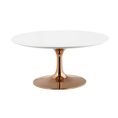 Modern Pedestal Coffee Tables Allmodern