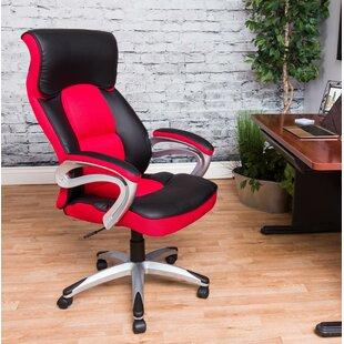 Shum High Back Gaming Chair by Ebern Designs