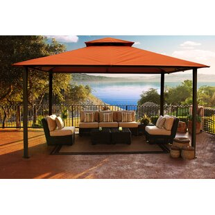 10 Ft. W x 14 Ft. D Metal Patio Gazebo by Paragon-Outdoor