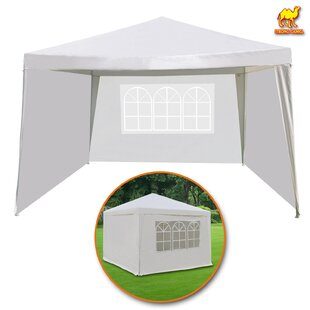 Wedding Outdoor Camping BBQ Pavilion Cater Events 10 Ft. W x 10 Ft. D Steel Pop-Up Canopy by Strong Camel