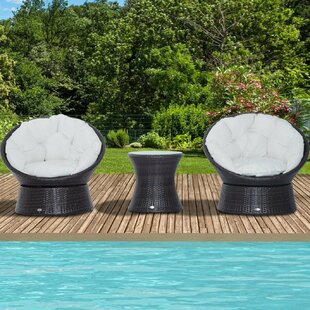 Seguin 2 Seater Rattan Conversation Set By Sol 72 Outdoor