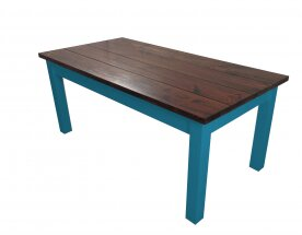 Charleston Solid Wood Dining Table by Ezekiel and Stearns