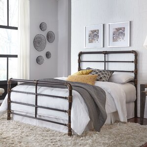 Willa Complete Panel Bed by 17 Stories