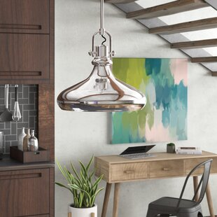 Arango 1-Light Bowl Pendant