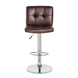 Orren Ellis Lexington Avenue Classic Adjustable Height Swivel Bar Stool