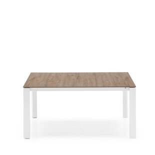 Layton Wooden Legs Extendable Dining Table by Brayden Studio