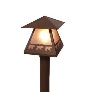 Brinkley 1-Light Lamp Post by Millwood Pines