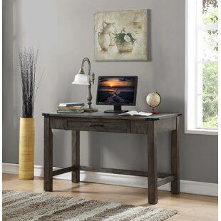 Plains Solid Wood Writing Desk by Three Posts Spacial Price