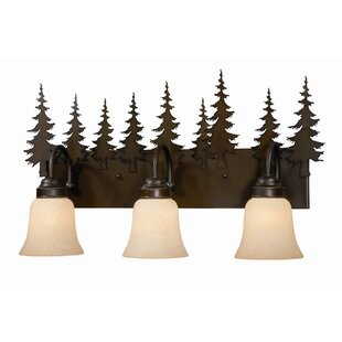 Find the perfect Jennings 3-Light Vanity Light By Loon Peak