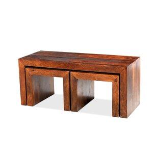 Heritage 3 Piece Coffee Table Set By Prestington