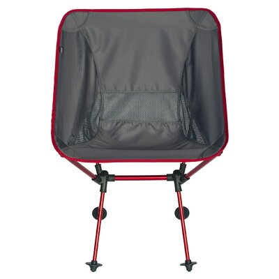 Roo Folding Camping Chair Travel Chair Frame Color: Gray/Black