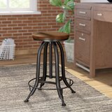 Nevada Adjustable Height Swivel Bar Stool by Trent Austin Design®