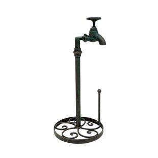 Table Top Water Faucet Free-Standing Paper Towel Holder