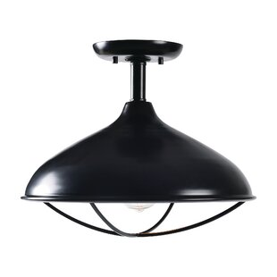 Savings Haeli 1-Light Semi Flush Mount By Gracie Oaks