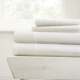 Lokey Polka Dot Bed Sheet Set by Mercury Row Wonderful