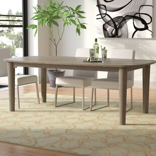 Enrique Extendable Dining Table Ivy Bronx