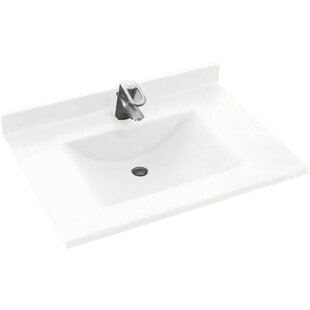 Contour 31 Single Bathroom Vanity Top By Swan Surfaces