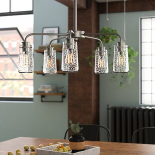 17 Stories Olle 5-Light Shaded Chandelier