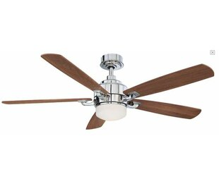 Buy clear 8 Benito 5-Blade Ceiling Fan with Remote By Fanimation