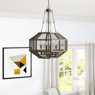 Jaylene 8-Light Geometric Chandelier by Laurel Foundry Modern Farmhouse