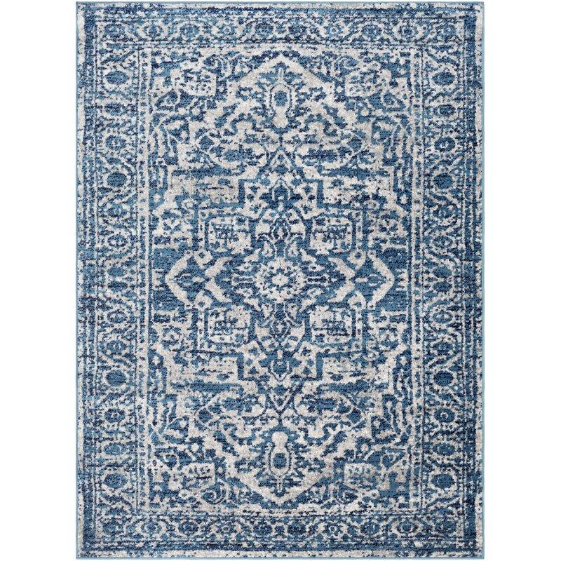 best navy area rugs