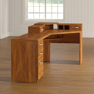 Leavy L-Shape Computer Desk by Millwood Pines
